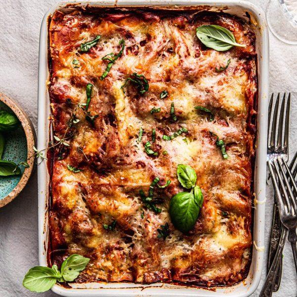 Meat Lasagna (GF, DF)