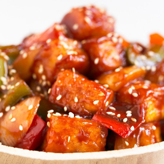 Sweet & Sour Tofu (GF, DF)